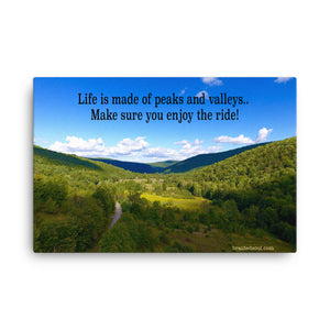 Canvas: Enjoy the ride!