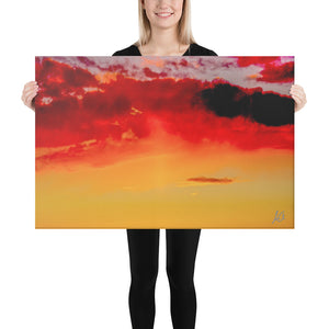 Canvas: Fire Sky
