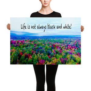 Canvas: Life is not always black and white