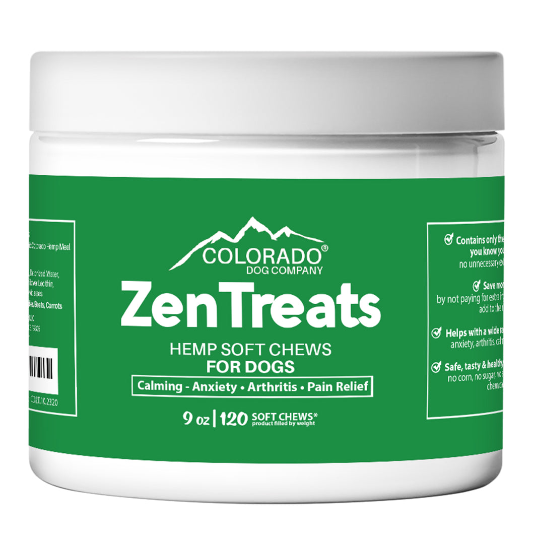 ZenTreats - 100% Natural Hemp Seed Oil Dog Treats