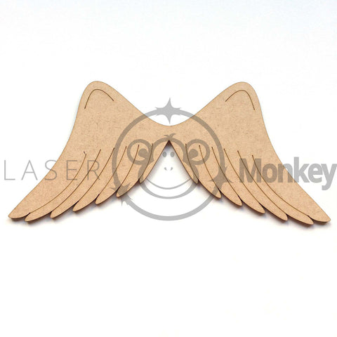 Craft Scrapbook Cards Wooden MDF Shapes Christmas Angels Small 40 50 60mm