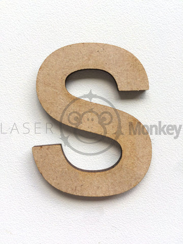Individual Arial Wooden Letters /& Numbers Alphabet Letters Numbers MDF 3mm Thick