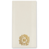 Monogrammed Holiday Faux Linen Guest Towels