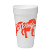 Go Dawgs Foam Cups