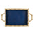 Colorblock Chang Mai Tray - Navy and Gold