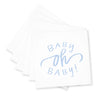 Oh Baby! Cocktail Napkins - Blue