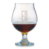 Monogrammed Belgian Beer Glass Set