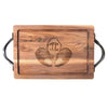 Monogrammed Cutting Board - Walnut (various sizes)