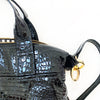 Leather Madray Handbag - Embossed Lamb