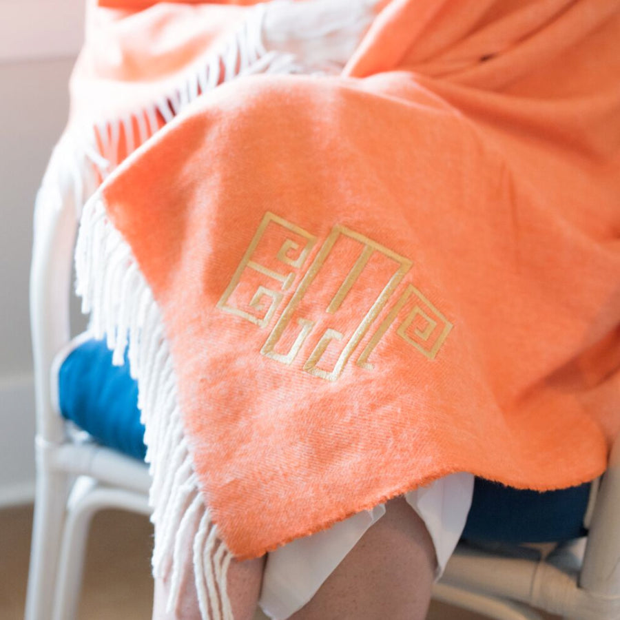 for the happy couple tagged monogrammed blankets