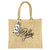 Stay Golden Burlap Tote