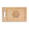 Monogrammed Thanksgiving Crest Carving Board