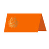 Monogrammed Thanksgiving Crest Place Card Set