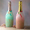 Glitter Champagne Bottle
