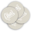 Cheers Neoprene Coasters