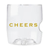 Cheers govino® Rocks Unbreakable Glass
