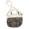 Leather Madray Handbag - Hair on Hide Leopard