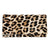 Leather Elizabeth Wristlet - Leopard