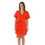 Day Robe Dress - Fiery Red