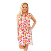 Emily Sleeveless Dress - Spring Mix Spot Cheetah
