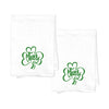 Limited Edition St. Patrick's Day Flour Sack Tea Towels - Cheers