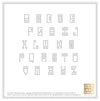 Return Address Embosser - Greek Key