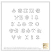 Return Address Embosser - Signature Monogram (1 or 2 Letters)