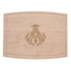 1-Letter Monogrammed Artisan Board (Rectangle)
