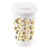 Gold Spot Cheetah Paper To-Go Cups