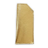 Leather Eye Glass Sleeve - Metallic Gold