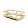 Guest Towel Holder - Gold Bamboo