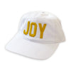 Joy Ball Cap - White