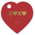 XOXO Heart Tags