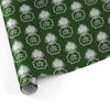 Monogrammed Christmas Gift Wrap