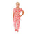 Peppermint Spot Cheetah Pima Pajama Set