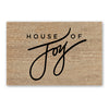 House of Joy Door Mat