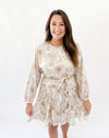 Party Swing Dress - Neutral Spot Cheetah