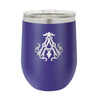 Monogrammed Insulated Stemless Wine Tumbler