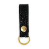 Leather Key Fob - Embossed Lamb