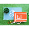 Monogrammed Lucite Serving Tray