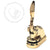 Luxury Gold Return Address Embosser - Oyster