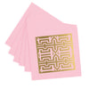 Maze Cocktail Napkins