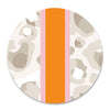Shatterproof Dinner Plate - Neutral Cheetah Stripe