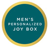 Men's Personalized Joy Box $70