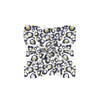 Navy & Gold Spot Cheetah Mini Scarf