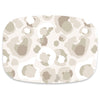 Shatterproof Serving Platter- Neutral Cheetah