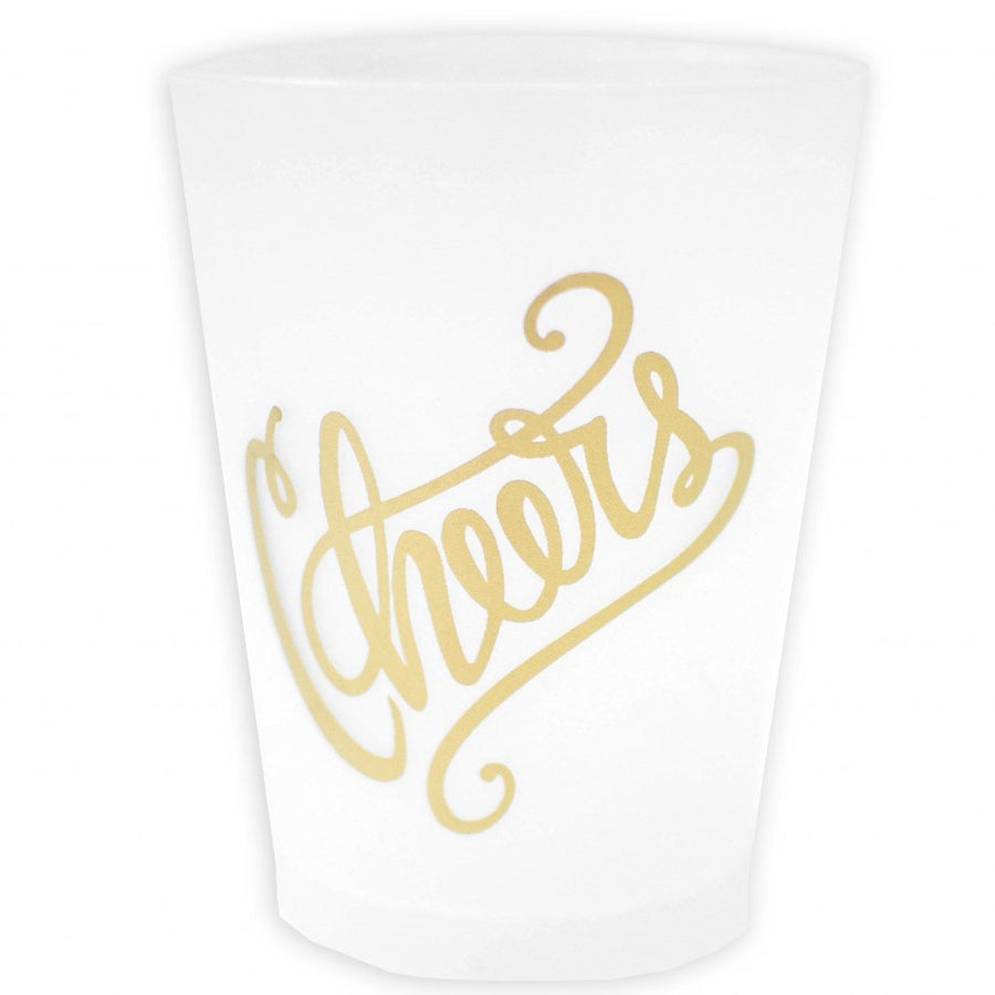 Cheers Frosted Cup Set