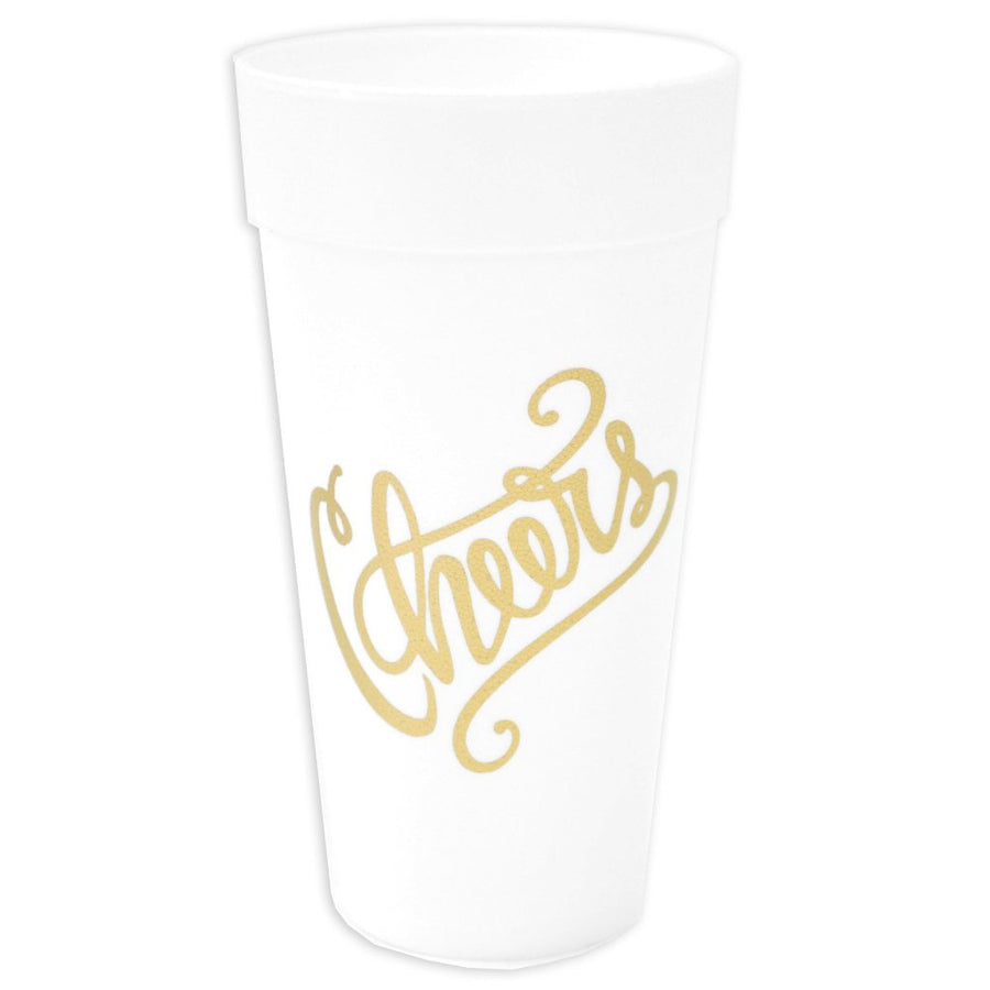 Cheers Foam Cup Set