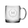 Monogrammed Glass Nordic Mug Set