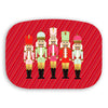 Nutcracker Stripe Shatterproof Serving Platter